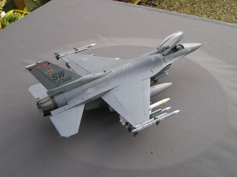 F 16 Viper >> Tamiya 1/32 F-16C Viper 77th FS OP Iraqi Freedom | Large ...