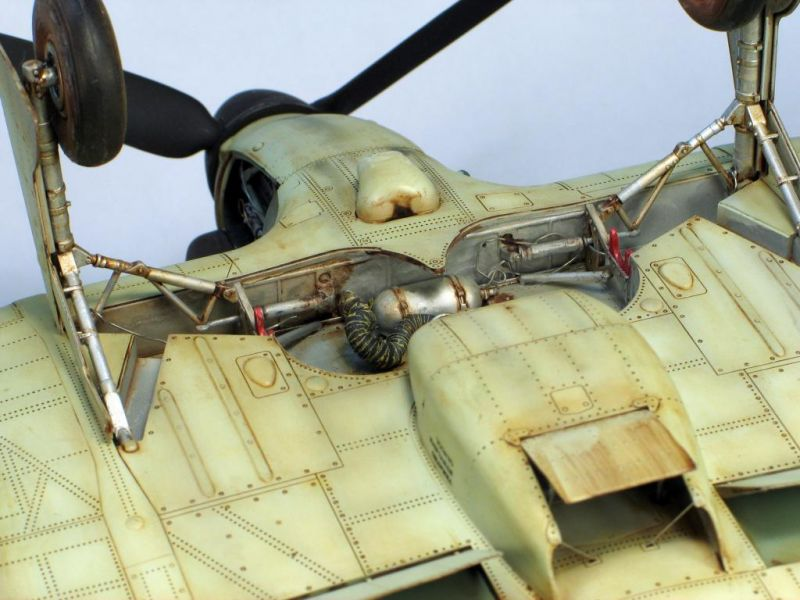 Trumpeter 1/24 Hurricane | Large Scale Planes