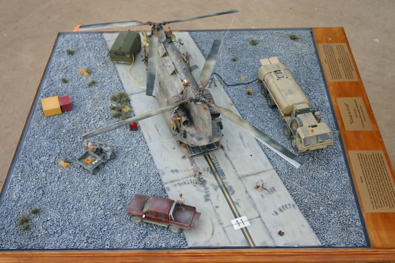 trumpeter 1 35 ch 47 diorama large scale planes