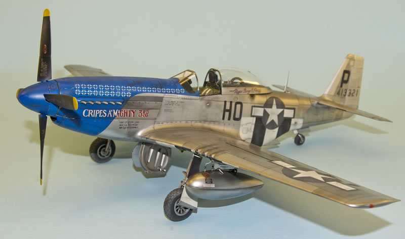 """Tamiya 1/32 P-51D 1/32 """"Cripes A'Mighty""""   Large Scale Planes"""
