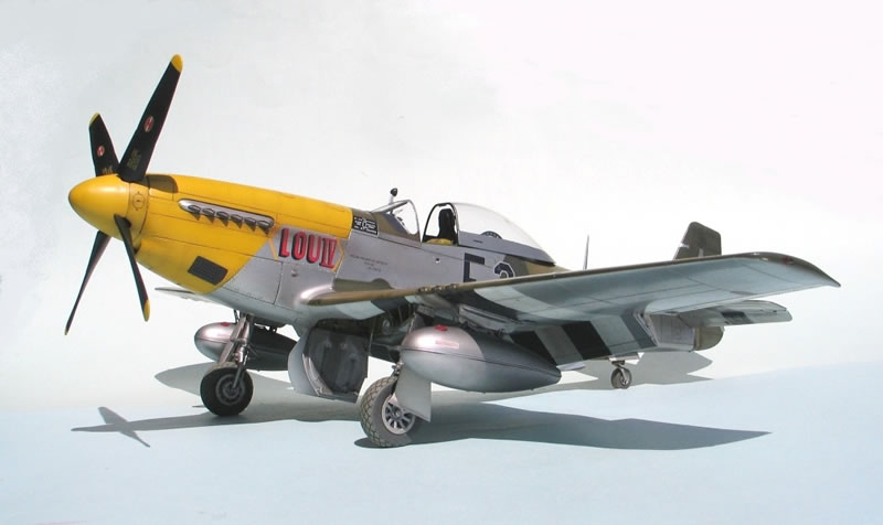 1 32 Tamiya P 51d Mustang Quot Lou Iv Quot Large Scale Planes