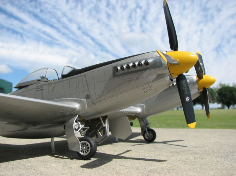 XP-82 Twin Mustang in 1/32 Scale 1252-47