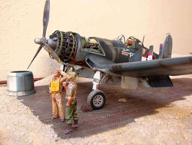 Revell 1/32 Corsair, VMF-214, Robert McClurg | Large Scale ...