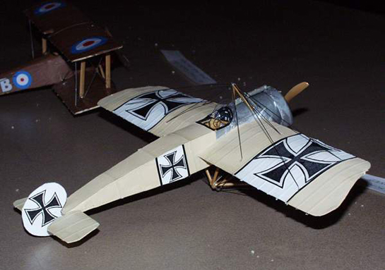 Paper Models by James Merrigan | Large Scale Planes