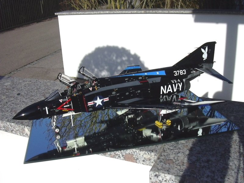 Tamiya 1 32 F 4J Phantom II quot VX 4 quot Large Scale Planes
