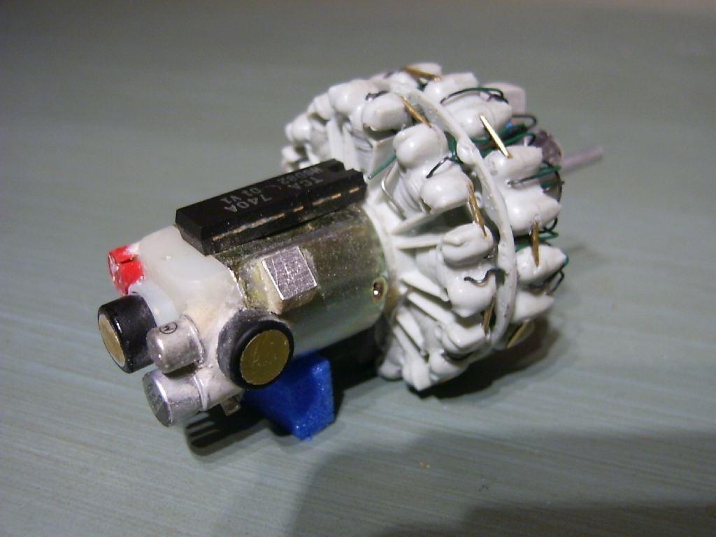 2 Step Motor Wiring on