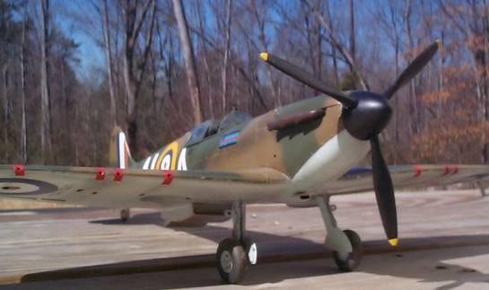 Airfix 1/24 Spitfire Mk  I   Large Scale Planes