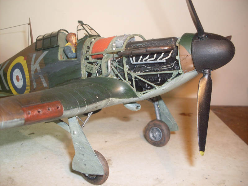 Airfix 1/24 Hurricane | Large Scale Planes