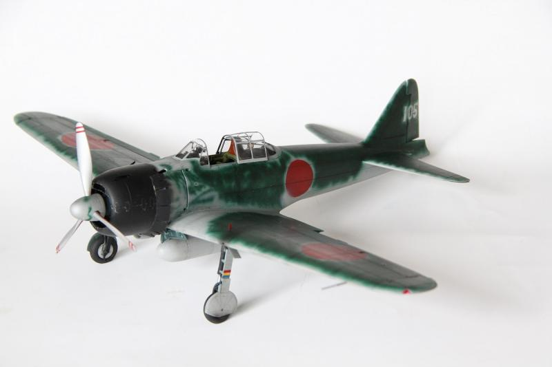 Tamiya 1/32 A6M3 Type 22 Zero Conversion | Large Scale Planes
