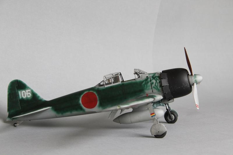 Tamiya 1/32 A6M3 Type 22 Zero Conversion | Large Scale Planes