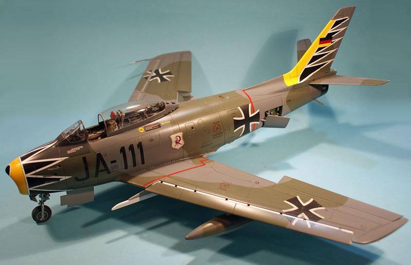 A Pair Of Hasegawa 1 32 Sabres Canadair Mk 6 And F 86