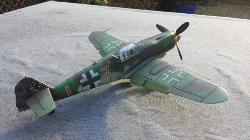 Revell 1 32 Bf 109k 4 Quot Red 7 Quot Of Jg27 1945 Large Scale