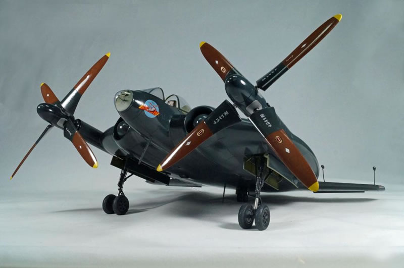 Planet Models Vought Xf5u 1 Flying Pancake Circa 1947