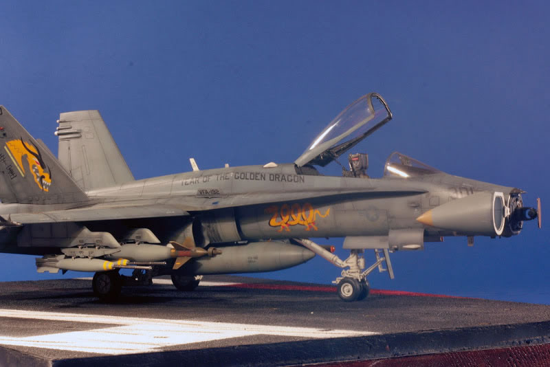 Air Force Academy >> Academy 1/32 F/A-18C Hornet | Large Scale Planes