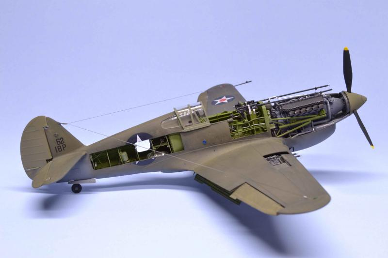 Trumpeter 1/32 P-40B Cutaway | Large Scale Planes