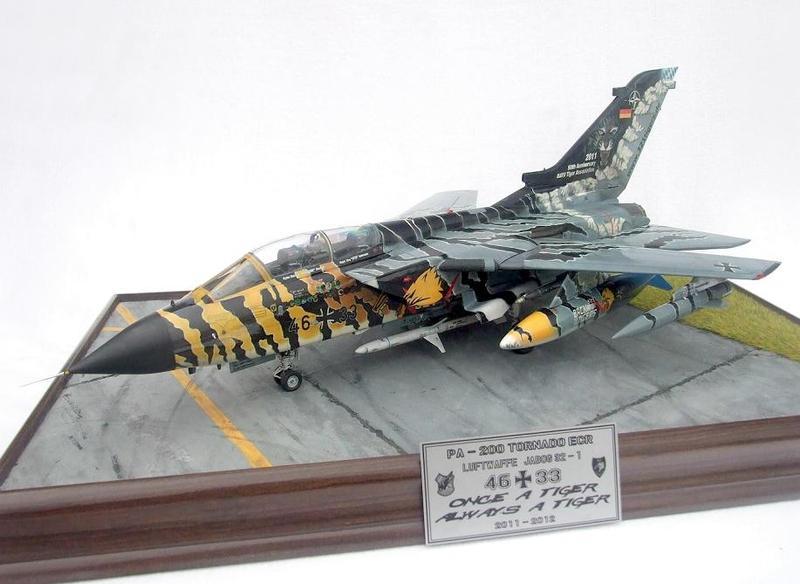 Revell of Germany Tornado Lechfeld Tiger 2011 Plastic Model Kit
