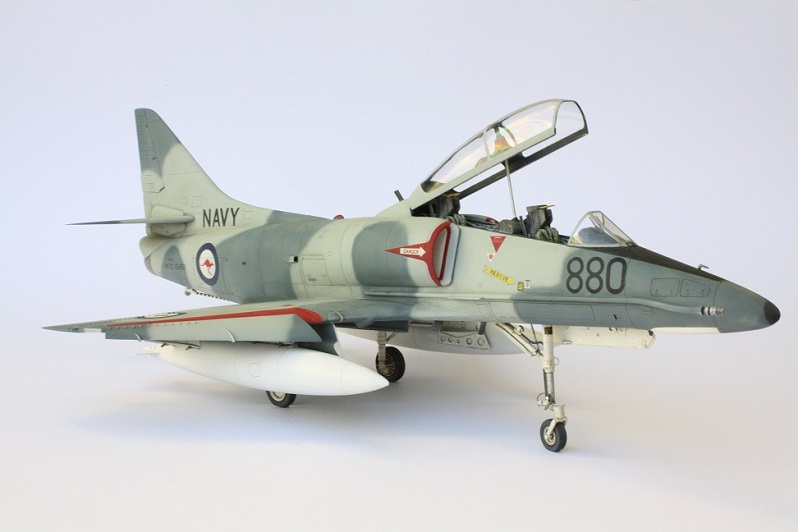 How Much Is A Lift Kit >> Hasegawa 1/32 TA-4G Skyhawk | Large Scale Planes