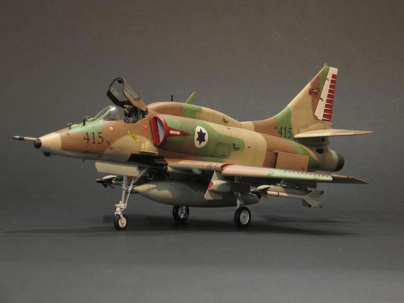 Trumpeter 1 32 A 4n Skyhawk Israeli Flying Dragon At