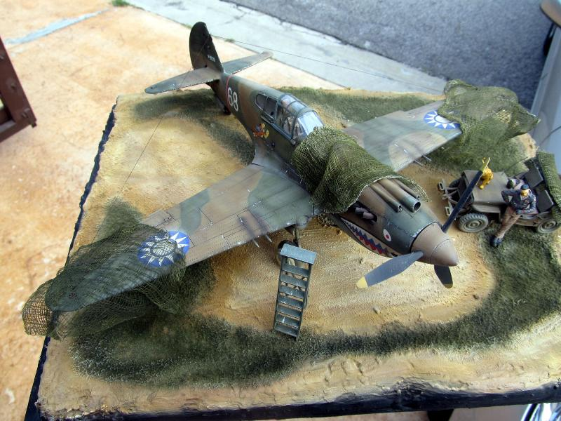 Trumpeter 1 32 P 40b Quot Flying Tiger Quot Large Scale Planes