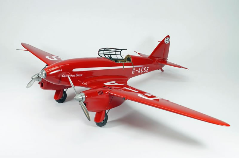 This is my newly completed 1/32 Aerotech De Havilland DH-88 Comet `Grosvener Houseu0027 as flown by Tom C&bell Black and Charles W.A. Scott in the ... & Aerotech 1/32 DH-88 Comet MacRoberston Air Race Charleville QLD ...