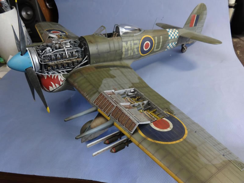 Airfix 1 24 Hawker Typhoon Large Scale Planes