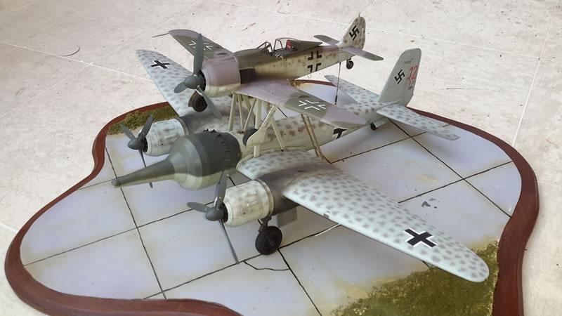 Can Light Conversion Kit >> AIMS 1/32 Mistel 2 Conversion | Large Scale Planes