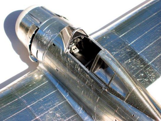 Painting Natural Metal Model Aircraft