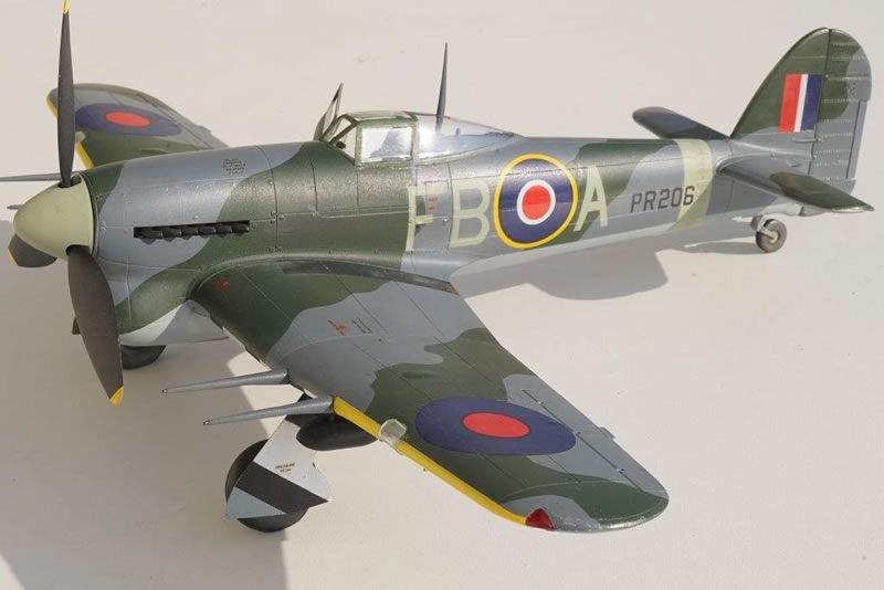 revell 1 32 hawker typhoon car door large scale planes