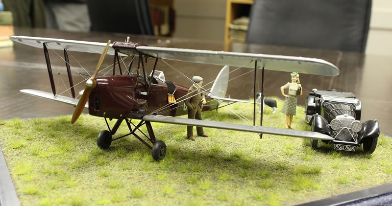 Matchbox 1/32 Tiger Moth Diorama - She's Got A Ticket To ...