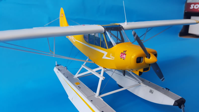 "Revell 1/32 Piper Super Cub Floatplane ""Popeye"" | Large ..."