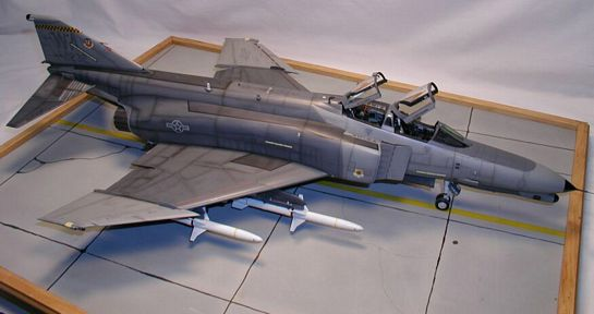 Tamiya 1/32 F-4G Wild Weasel Part 2 | Large Scale Planes