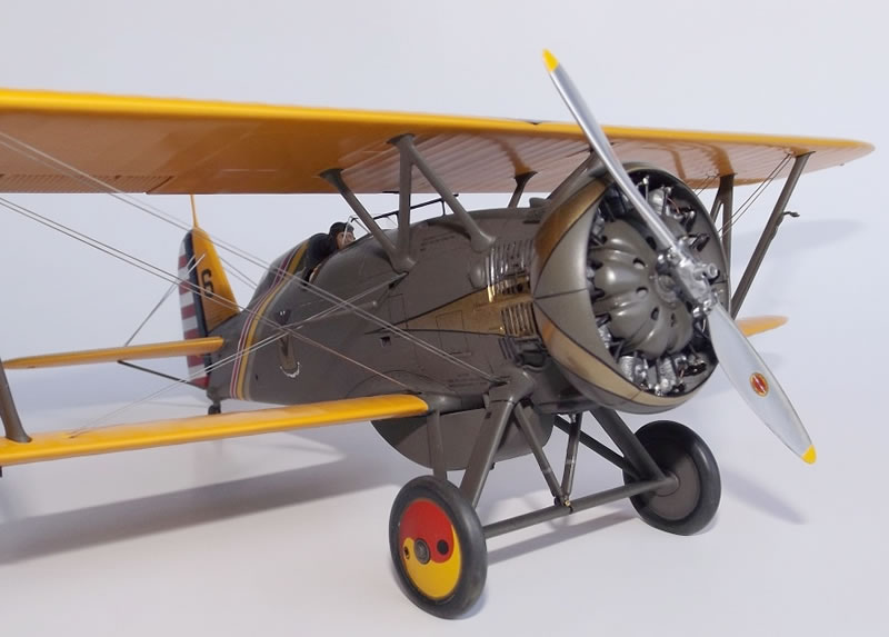 Hasegawa 1/32 Boeing P12E Large Scale Planes