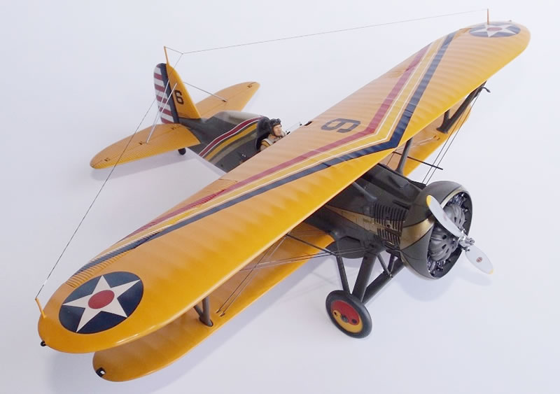 Hasegawa 1/32 Boeing P-12E | Large Scale Planes