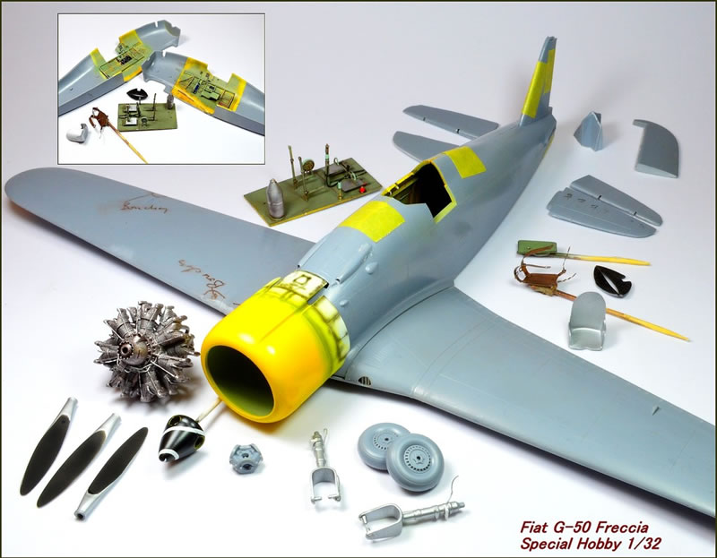 Special Hobby 1 32 Fiat G 50 Freccia Large Scale Planes