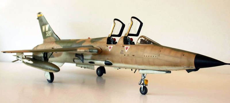 Trumpeter 1 32 F 105g Thunderchief Large Scale Planes