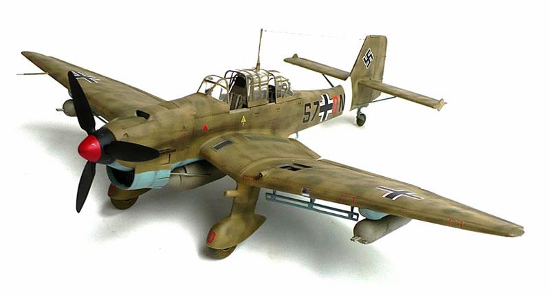 Kuvahaun tulos haulle trumpeter Junkers Ju 87R Stuka