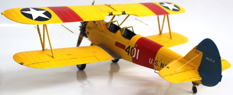 Silver Wings 1/32 Boeing Stearman N2S-2 US Navy | Large