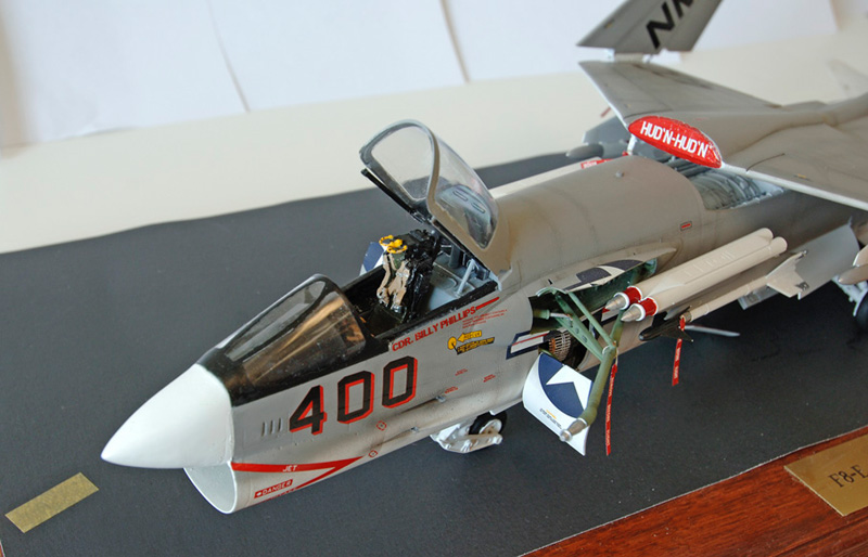 Trumpeter 1/32 F-8J Crusader Converted into F-8C | Large ...