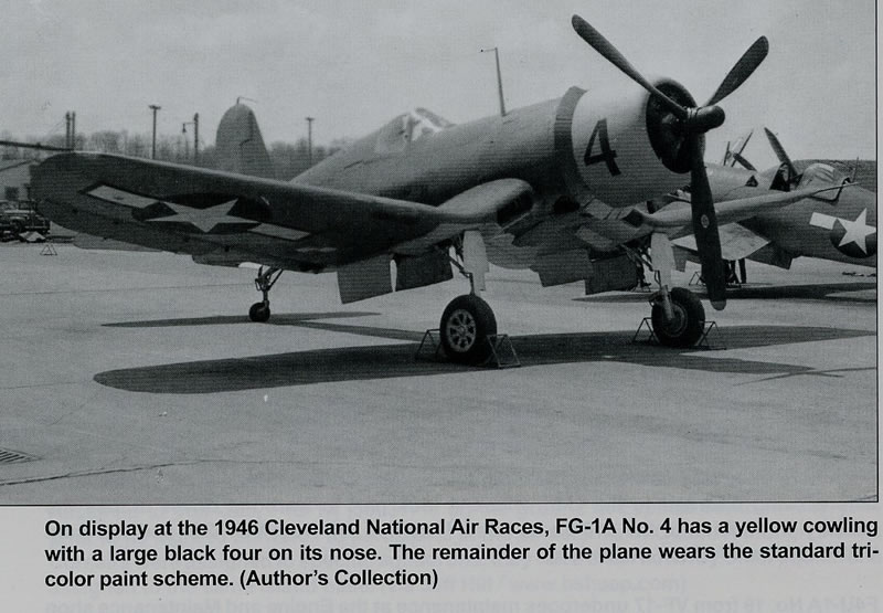 Tamiya 1/32 Vought F4U-1A Corsair: Goodyear Aircraft