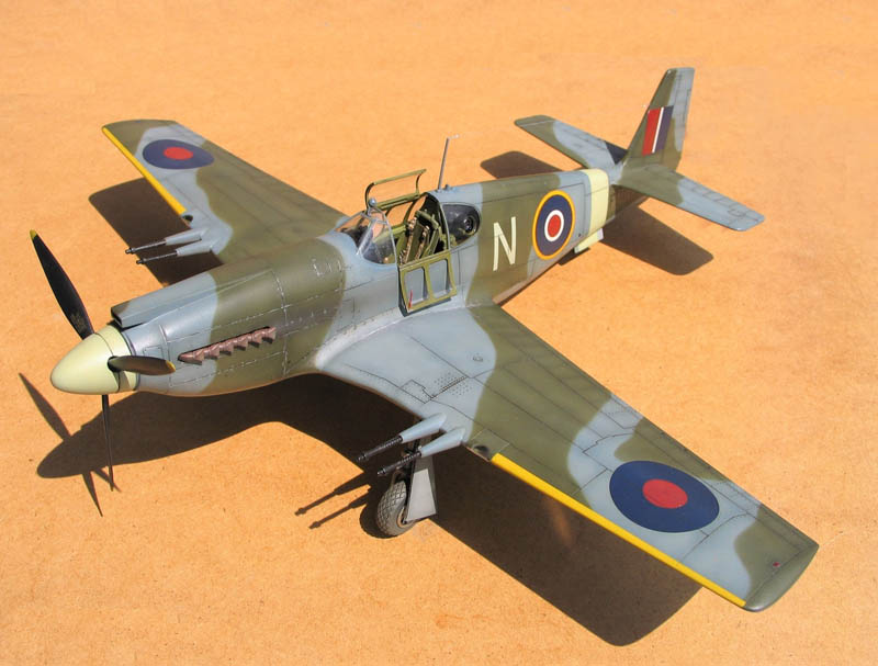 Hobbycraft 1 32 Mustang Mk 1a Large Scale Planes