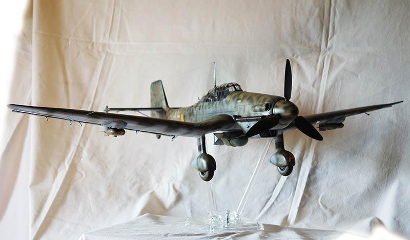 Trumpeter 02424 1//24 German Ju-87D-5 Stuka Bombardment Aircraft Model Bomber