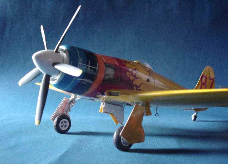 Fisher Models 1 32 Signal Sea Fury Miss Merced 1966