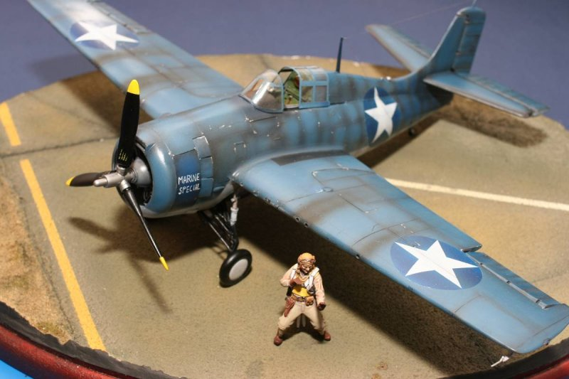 World War 1 Planes >> Revell 1/32 F4F-4 Wildcat | Large Scale Planes