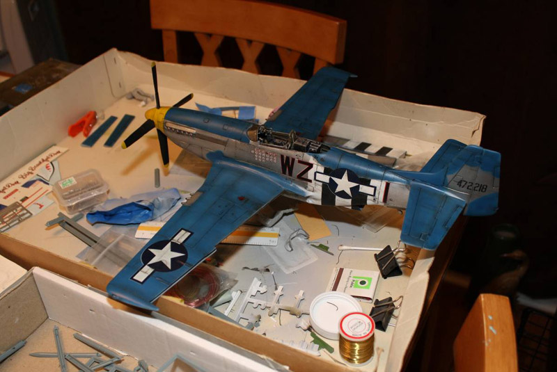 Airfix P-51 Mustang 1/24th Scale - Part 2 | Large Scale Planes