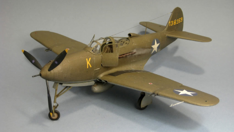P-39D1 BE Paper Model (KW Model) | Large Scale Planes