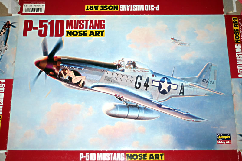 North American P-51 Mustang all marks 1940 Onwards