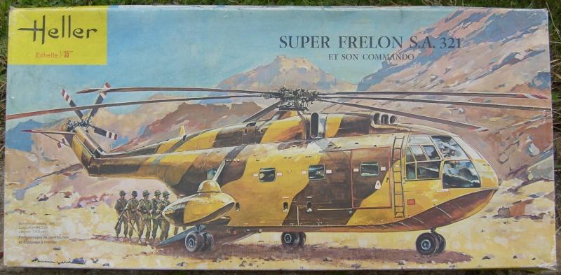 Heller Sud-Aviation SA.321 Super Frelon | Large Scale Planes