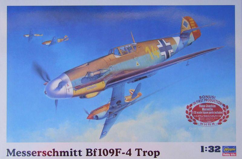 Hasegawa Messerschmitt Bf 109F-4 Trop | Large Scale Planes