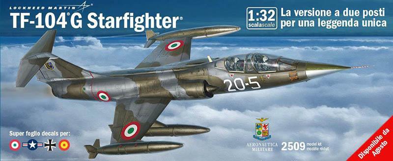 Italeri 2514-1//32 Lockheed Martin F-104 Starfighter G//S Upgraded Rf Version