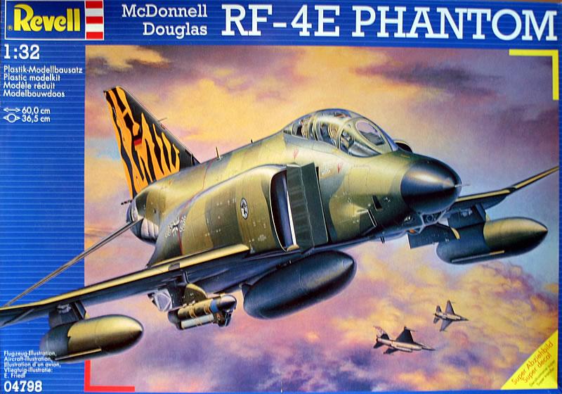 F-4G Phantom II Wild Weasel Kampfflugzeug Fighter 1:32 Model Kit Revell 5994